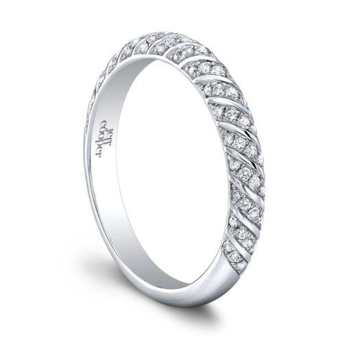 Lotus Engagement Ring Jeff Cooper Designs