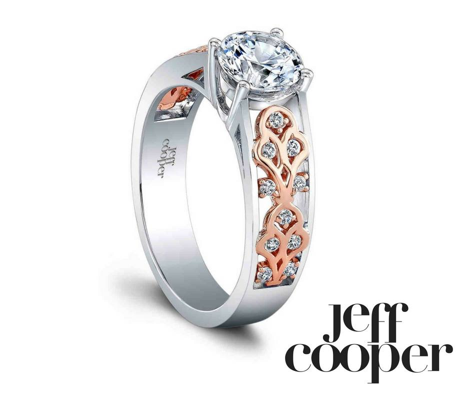 rose gold ring jeff cooper