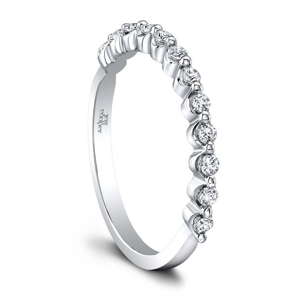 Angelina Wedding Band Jeff Cooper Designs