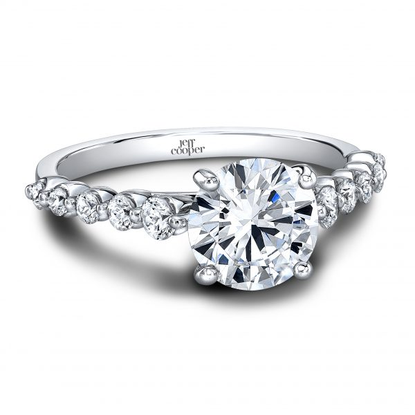 Angelina RD Wedding Set Jeff Cooper Designs